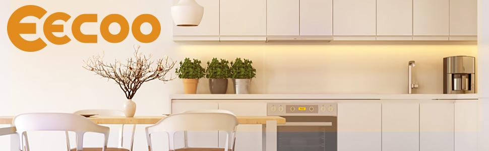 EECOO LED Under Cabinet Lighting Kit