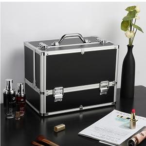 Lockable Cosmetic Box