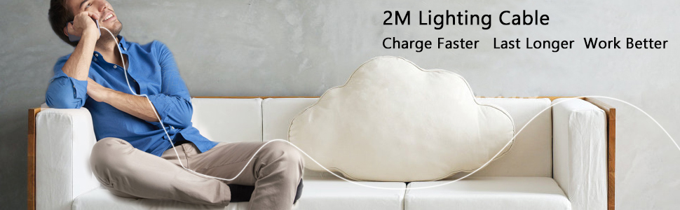 2 M lighting cable