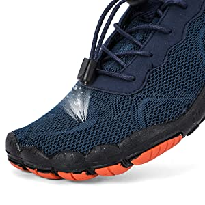 acd4fa1aa5b1 hiitave Womens Mens Water Shoes Wide Fit Barefoot Trail Running ...