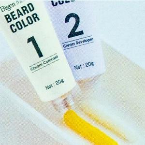 Bigen Mens Beard Colour – Tinte para barba marrón y negro 102