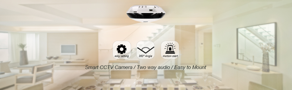 360 Smart Wireless IP Camera 960p Home Security Wifi Camera Smart Baby  Monitor Motion Detection Night Vision Surveillance security camera 360°  Wide