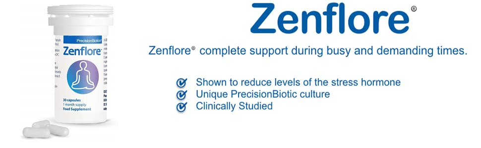 Zenflore - reduces the levels of the stress hormone