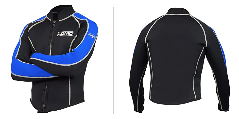 4fc06bed8f312 The Inferno Wetsuit Jacket from Lomo.