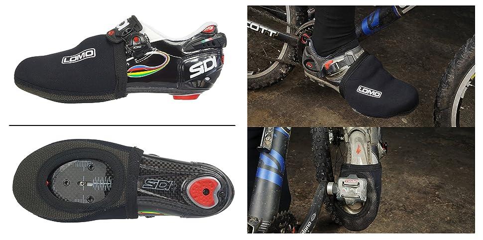 Lomo Neoprene Cycling Toe Covers