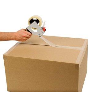 Ruban adhésif d'emballage transparent