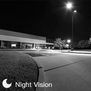 night vision of poe camera