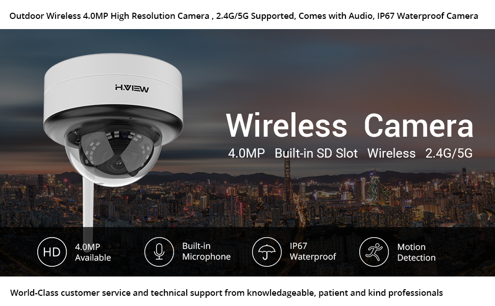 4.0MP Wireless Camera