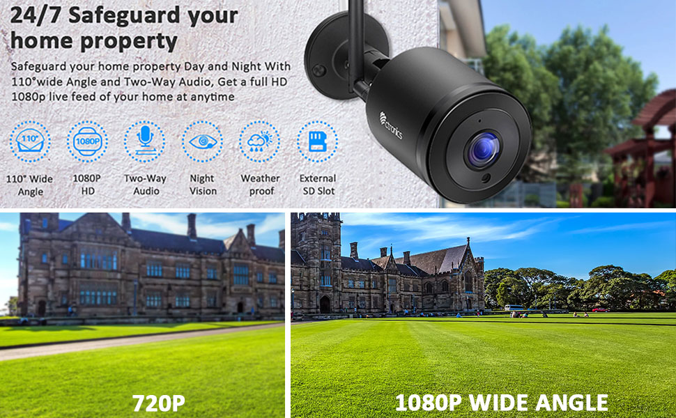 wireless ip camera outdoor