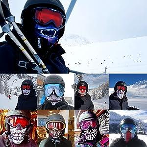 Ruffnek Ski masks