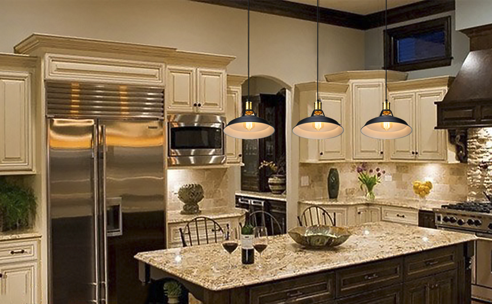 what is the best lighting for a kitchen vintage metal industrial pendant lamps s amp g retro ceiling 9934