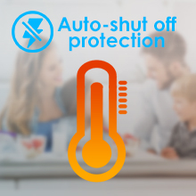 Auto-shut Off Protection