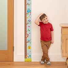 Toise enroule pour enfants Measure Me R/ègle R/étro De l/École