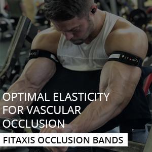 FITAXIS Bandas de oclusion | Occlusion Bands Optimizado para Entrenamiento de restriccion del Flujo sanguineo Crecimiento Muscular rapido sin Levantar ...