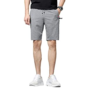 mens gray shorts