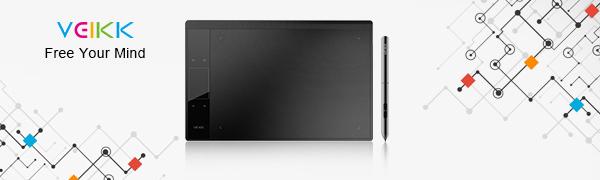 VEIKK drawing tablet A30