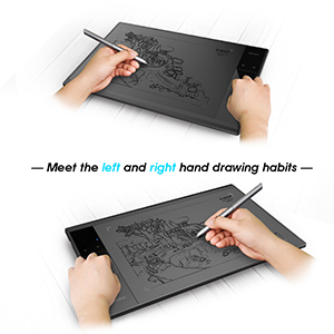 both left handed and right handed