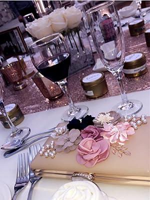 Floral Clutch ON Evening Dinner