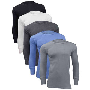 Mens Thermal Long Sleeve Vest