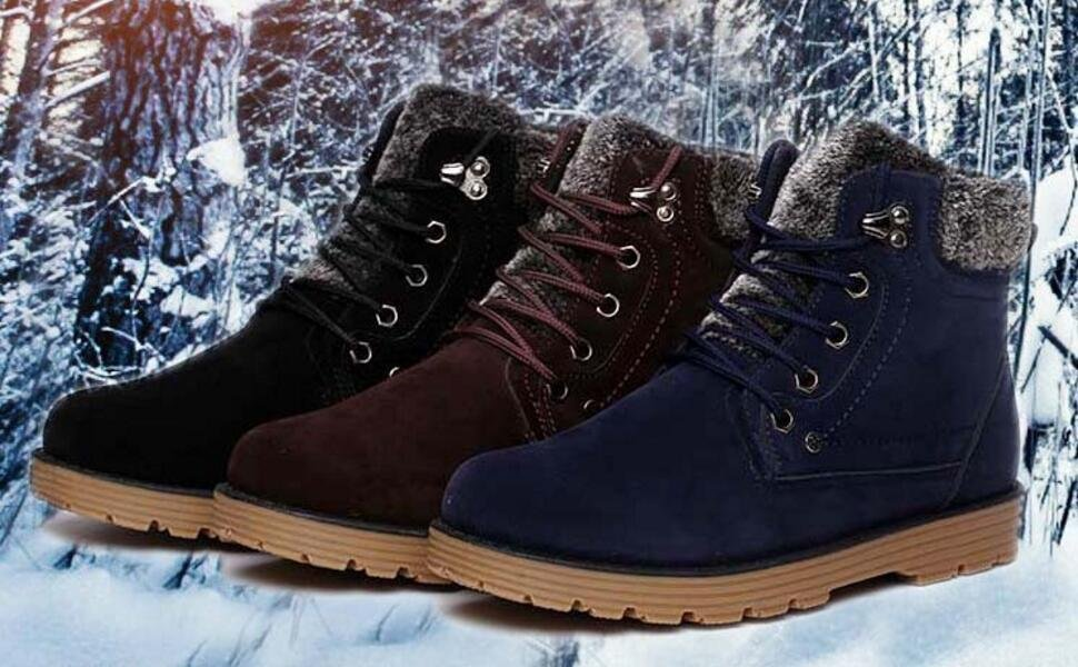A quick lace-up design, and finished off with fur trimming, making the  perfect grab-and-go boot even in the coldest reaches of winter weather.