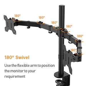 180° Swivel