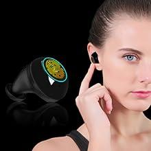 touch control earphones
