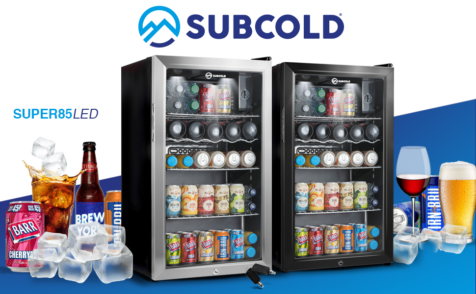 Subcold, Cooler, Refrigerator, Wine, Drinks, Beer, Mini