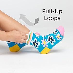 Ez Sox easy pull up loops