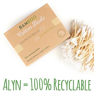 bamboo wooden sustainable bathroom gift compostable reusable environment plastic free cotton buds