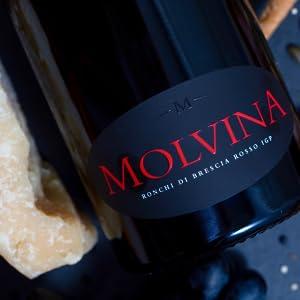 MOLVINA WINE RONCHI DI BRESCIA ROSSO GOLD