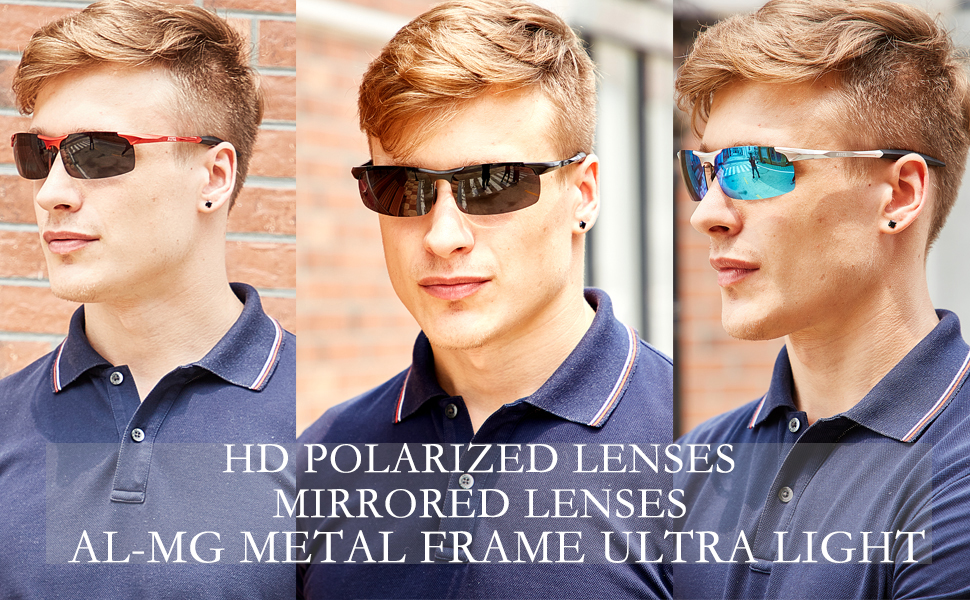 20f98d77d15ae ATTCL Fashion Driving Polarized Sport Sunglasses Mens Unbreakable ...
