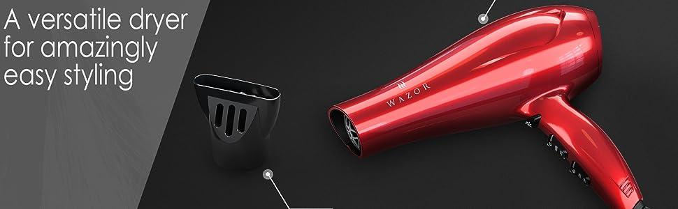 Wazor Ionic Lightweight Powerful Hair Blow Dryer