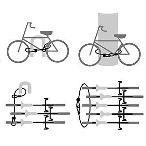 bike pier pillar scooter push chair trolley luggage sports garden outdoor