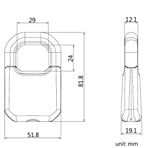 size dimension abloy bosvision diagram