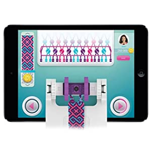 digital loom for friendship bracelet making works with ios and android application