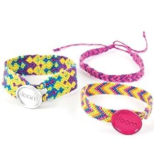 thread weaving bracelet jewellery maker craft set