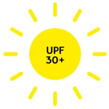 UPF 30+, Ultraviolet Protection Factor over 30