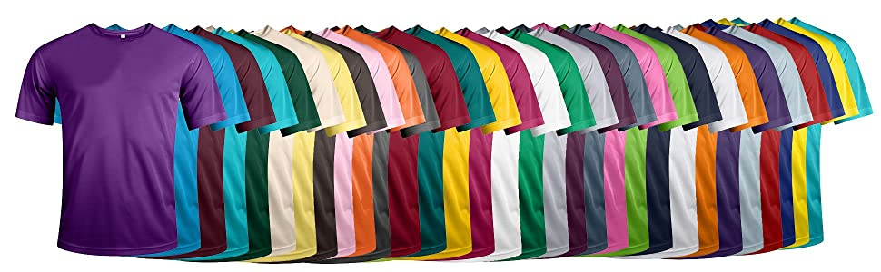 Sports T-Shirt in all Colours