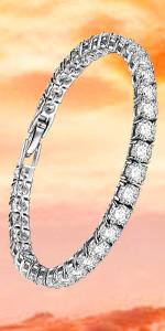 Eternity Tennis Bracelet