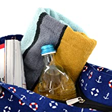 beach bag shoulder bag beachbag DonDon XXL XL holiday vacation shopper tote weekender festival big