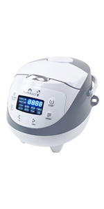 ghdonat.com 120V Power Yum Asia Sakura Rice Cooker with Ceramic ...
