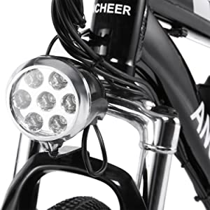 Front fork and light