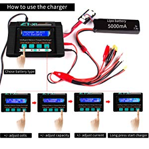 how to use the balance charger