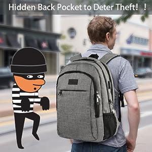 Hidden Back Pocket