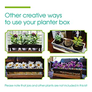 Other creative ways to use your planter box