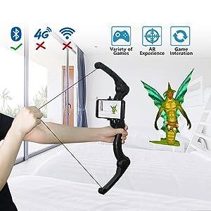 364bb9616b92 A High-tech Smart Mobile Game Device. AR Technology