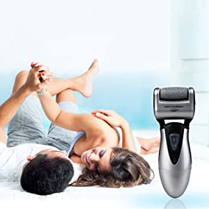 heel shaver for men dr scholl rechargeable powerful grinder sander cracked thick rough calloused dry