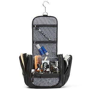 gift set shave bag kit travel organizer holiday pack toiletry wash shower shave men lady mother