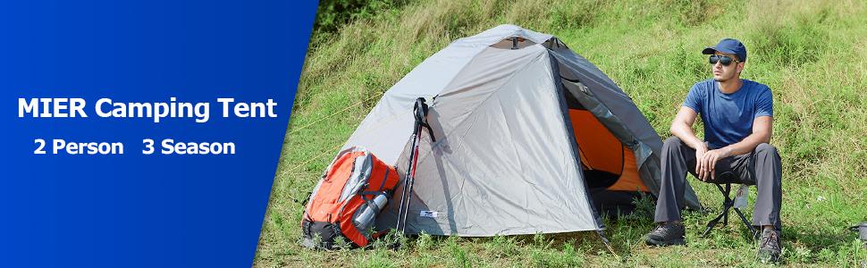 Climbing Hiking MIER Ultralight Tent