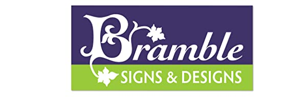 This is an image of Bramble Signs & Designs Logo